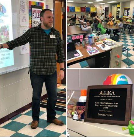 Rocky Ridge Elementary Professional Art Educator of the Year